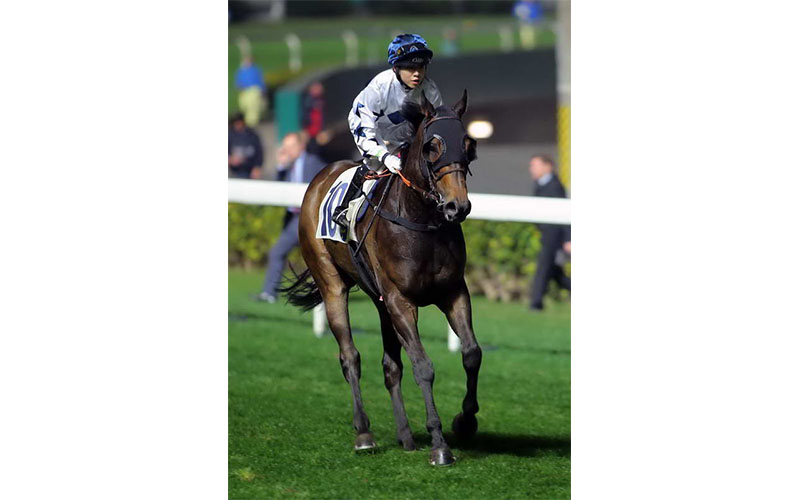 KK first win in Happy Valley - Great Charm 2